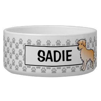 Golden Retriever Cartoon Dog