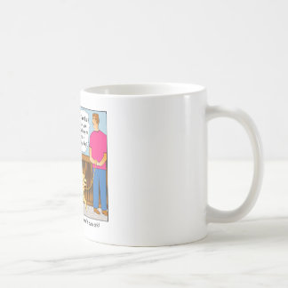 Golden Retriever Cartoon Mug
