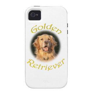 Golden Retriever Vibe iPhone 4 Covers