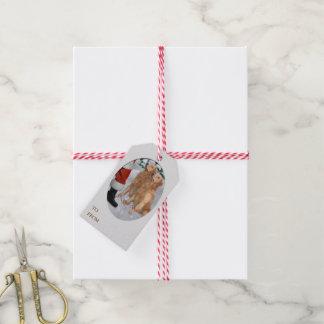 Golden Retriever Christmas Gift Tags