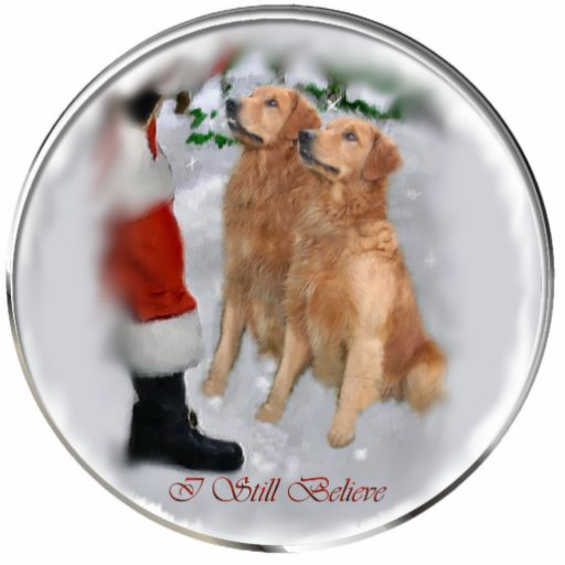 Golden Retriever Christmas Gifts Ornament Acrylic Cut Out