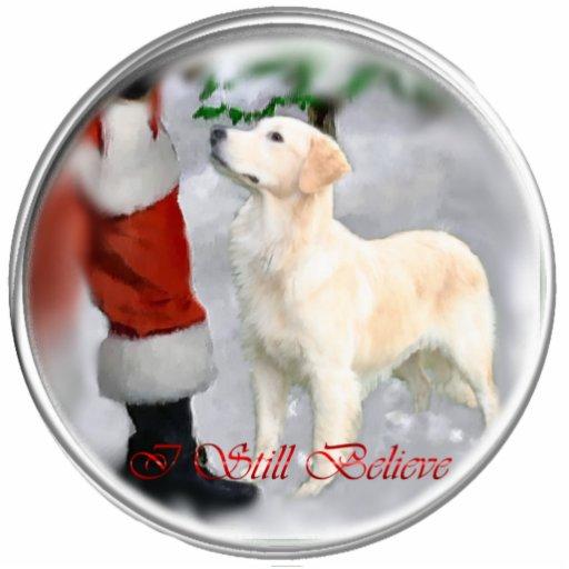Golden Retriever Christmas Gifts Photo Cutouts