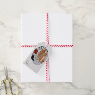 Golden Retriever Christmas Pack Of Gift Tags