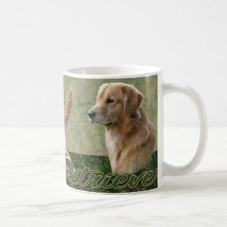 Golden Retriever collage Mug