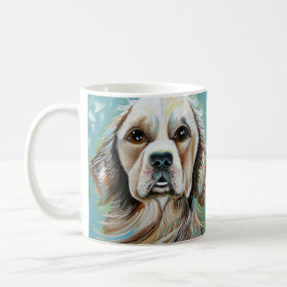 Golden Retriever Design Coffee Mug