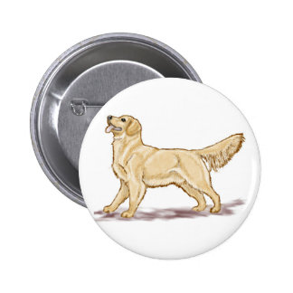 Golden Retriever Dog Pins