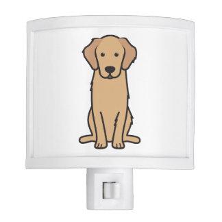 Golden Retriever Dog Cartoon Nite Lites