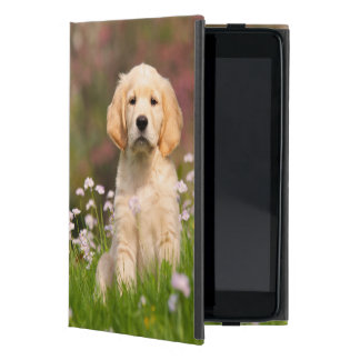 Golden Retriever Dog Cute Goldie Puppy  Protection iPad Mini Cover