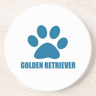 GOLDEN RETRIEVER DOG DESIGNS COASTER