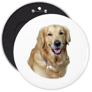 Golden Retriever dog photo Pin