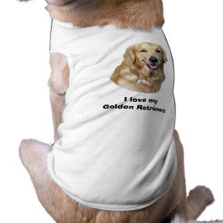 Golden Retriever dog photo Doggie Tee Shirt