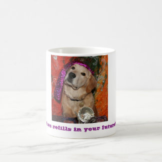 Golden Retriever Fortune Teller Coffee Mug