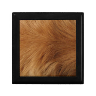 Golden Retriever Fur Gift Box