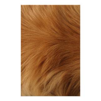 Golden Retriever Fur Stationery