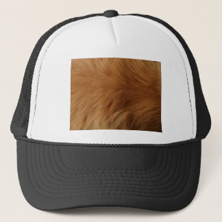 Golden Retriever Fur Trucker Hat