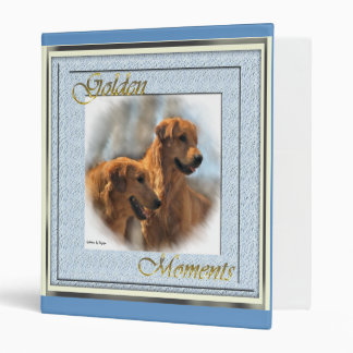 Golden Retriever Gifts Binders