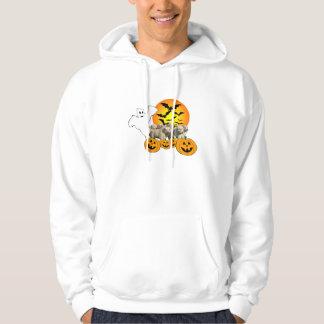 Golden Retriever Halloween UnisexHooded Sweatshirt