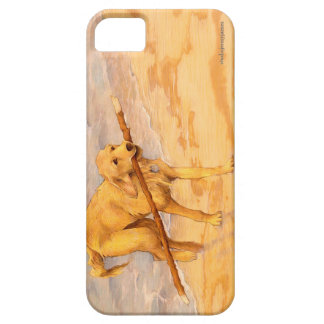 Golden Retriever Horizontal Art Phone Case