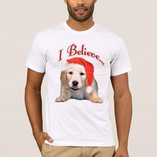 Golden Retriever I Believe T-Shirt