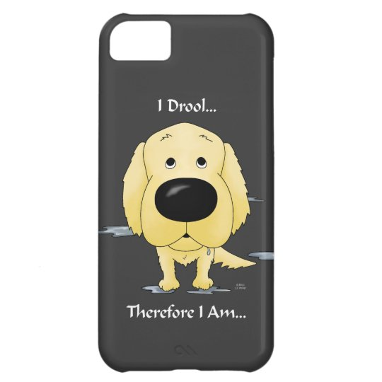 Golden Retriever - I Drool iPhone 5C Covers