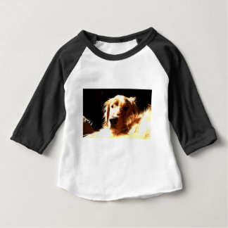 Golden Retriever In Sunlight Baby T-Shirt
