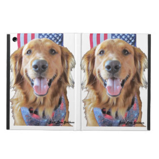 Golden Retriever iPad Air Case, July 4 iPad Air Covers
