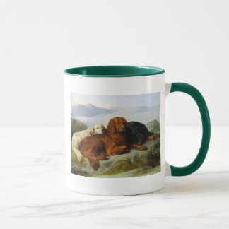 golden retriever, irish and gordon setter Mug