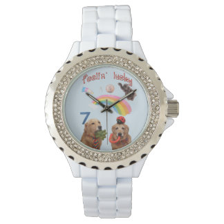 Golden Retriever Lucky Dogs Watch