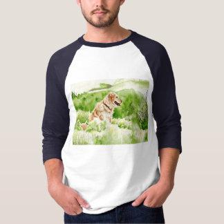 Golden Retriever Mens T-shirt