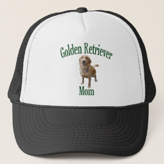 Golden Retriever Mom Trucker Hat