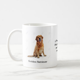 Golden Retriever Mug - With two images and a motif