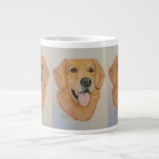Golden Retriever Original drawing Giant Coffee Mug