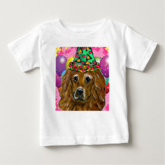 Golden Retriever Party Dog Baby T-Shirt