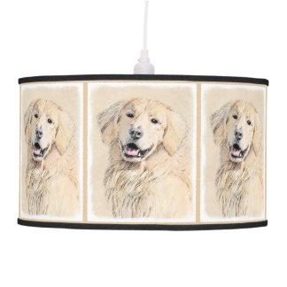 Golden Retriever Pendant Lamp