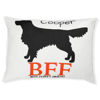 Golden Retriever Personalized Doggie Bed Large Dog Bed