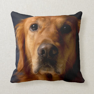 Golden Retriever Pet Dog Throw Pillow Home Decor