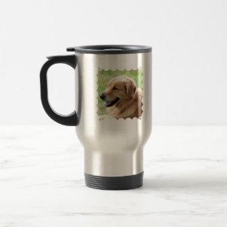 Golden Retriever Pup Travel Mug