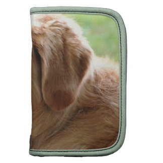 Golden Retriever Pup Wallet Folio Organizer