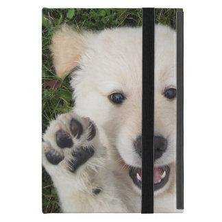 Golden retriever puppy case case for iPad mini
