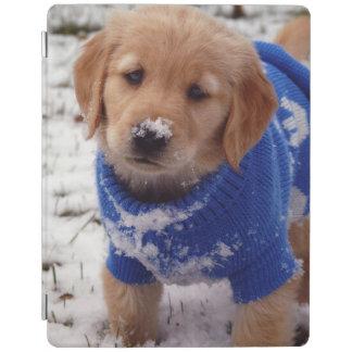 Golden Retriever Puppy iPad Cover