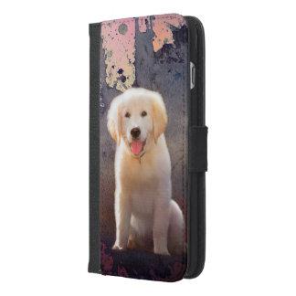 Golden Retriever Puppy iPhone 6/6s Plus Wallet Case