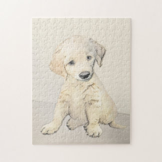 Golden Retriever Puppy Jigsaw Puzzle