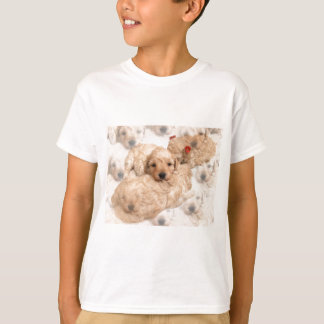 Golden Retriever Puppy Kid's T-Shirt