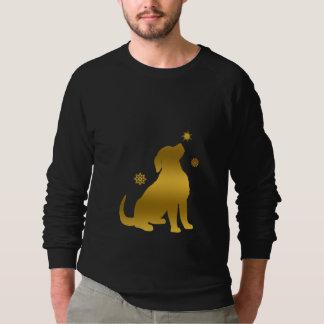 Golden Retriever Puppy Snow Sweatshirt