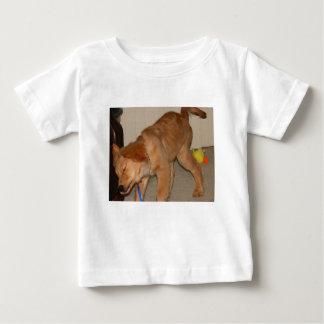 Golden Retriever Shaking It Off Baby T-Shirt