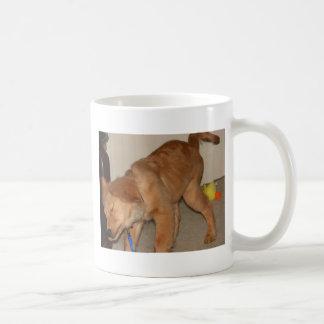 Golden Retriever Shaking It Off Coffee Mug