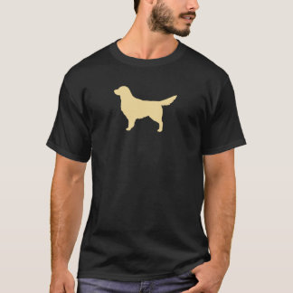 Golden Retriever Silhouette T-Shirt