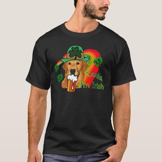 Golden Retriever St. Patrick's Day T-Shirt
