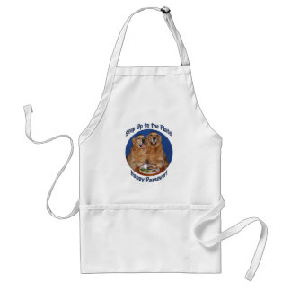 Golden Retriever Step Up to the Plate Passover Standard Apron