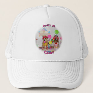 Golden Retriever Sweet As Candy Trucker Hat